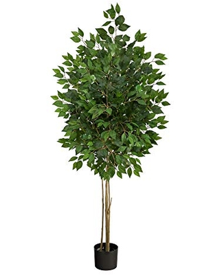 64in Ficus Artificial Tree UV Resistant Indoor Outdoor - nearly natural
