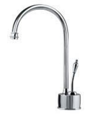 Farm House Collection DW6100C 5 GPM Deck Mounted Cold Water Ceramic Faucet in Polished - franke