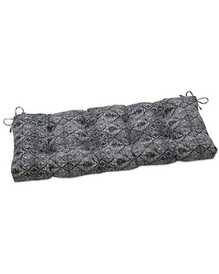 Indoor Nesco Stone Outdoor Tufted Bench Swing Cushion - pillow perfect