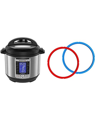 Ultra 10 in 1 Electric Pressure Cooker Sterilizer Slow Cooker Rice Cooker 16 One Touch Programs & Genuine Sealing Ring 2 Pack - instant pot