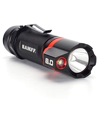 BAMFF 0 800 lumen dual CREE LED Flashlight Rechargeable - stkr concepts