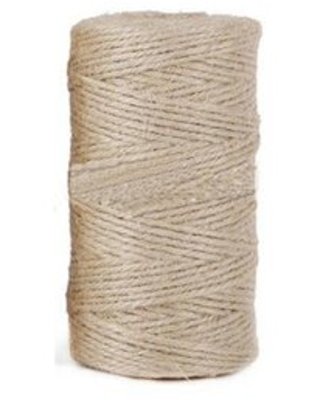 Natural Jute Twine Arts Crafts Christmas Gift Twine Packing Materials Durable String - fixturedisplays