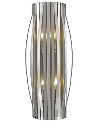 Moundou 25 in W 1 Light Brushed Nickel Modern Contemporary Wall Sconce 436 4S BN - z-lite