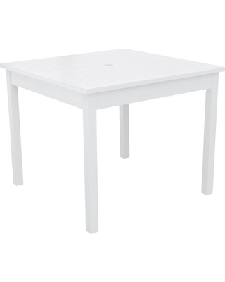Bradley Square Wood Outdoor Dining Table - vifah