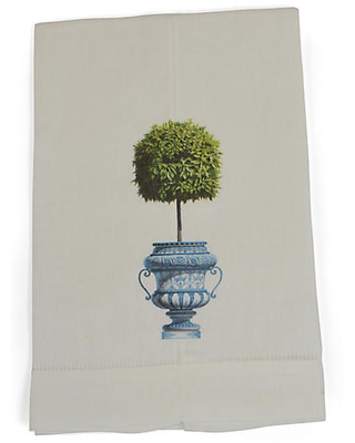 Topiary Guest Towels - the french bee