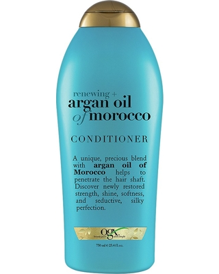 Renewing + Argan Oil of Morocco Hydrating Hair Conditioner - ogx
