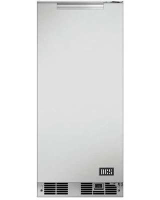 RF15IR1 UL Listed Outdoor Right Hinge Ice Maker with 35 lbs Daily Ice Production 304 Stainless Steel Construction and Weather Resistant in - dcs