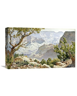Grand Canyon' by Gunnar Widforss Painting Print on Wrapped Canvas - global gallery