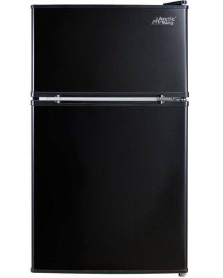 2 Cu ft Two Door Compact Refrigerator with Freezer E star - arctic king