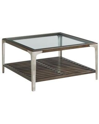 Tranquil Hamilton Collection 837 912 SQUARE COCKTAIL TABLE in Warm - hammary