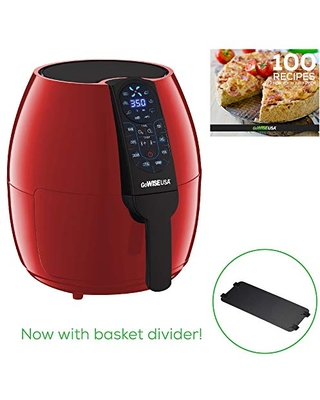 5 Quart Air Fryer with 8 Cook Presets + Recipe Book 0 Qt - gowise usa