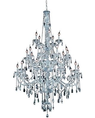 7925G43C RC Verona Collection 25 Light 43 Chandelier with Clear Royal Cut Crystal - elegant lighting