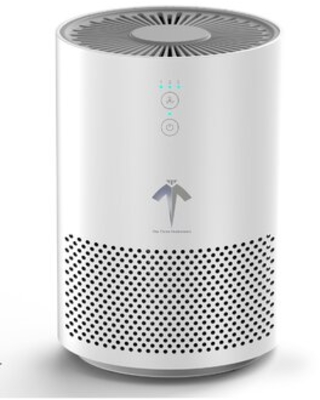 Tabletop Air Purifier with True HEPA Filter - the three musketeers iii m