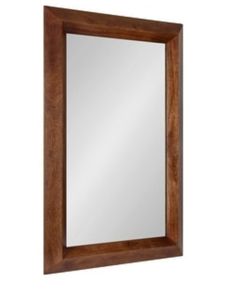 Quaid Wood Framed Wall Mirror - kate and laurel