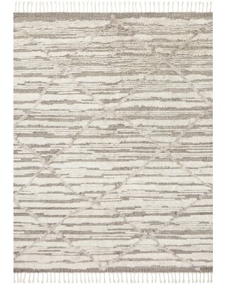 Easterly Hand Knotted Ivory Taupe Rug - allmodern