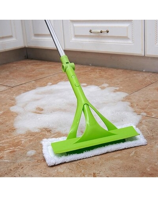 Telescopic Foldable Handle Cleaning Glass Sponge Mop Cleaner Window Extendable - novel home inc