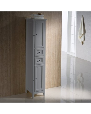"""Oxford 14"""" W x 68"""" H Linen Tower"""