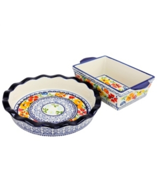 Luxembourg Pie Dish and Bakeware Set in Stoneware - gibson elite