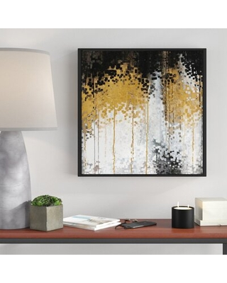 Riches for the World Romans 11 Framed Graphic Art Print on Canvas - brayden studio