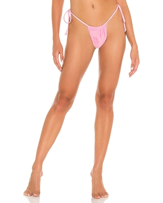 Tia Terry Bottom in Pink also in S XS - frankies bikinis