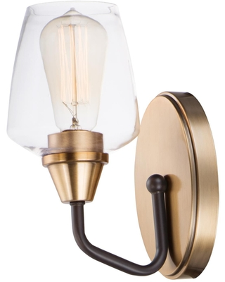 Goblet 9 Inch Wall Sconce Goblet 26121CLBZAB Transitional - maxim lighting