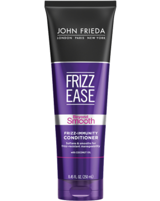 Frizz Ease Beyond Smooth Conditioner w Pure Coconut Oil - john frieda