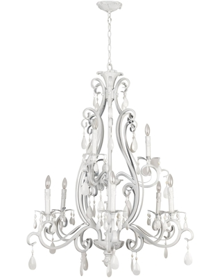 Englewood 34 Inch 9 Light Chandelier Englewood 25629 GW Traditional - craftmade