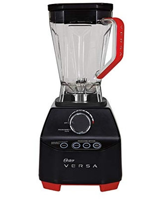 Versa Blender 1400 Watts Stainless Steel Blade Low Profile Jar Perfect for Smoothies Soups - oster