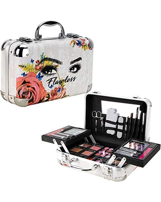 Ver Beauty 61pcs Makeup Gift Set With Extendable Trays and Mirror - Vmk1506, Flawless, 1 count