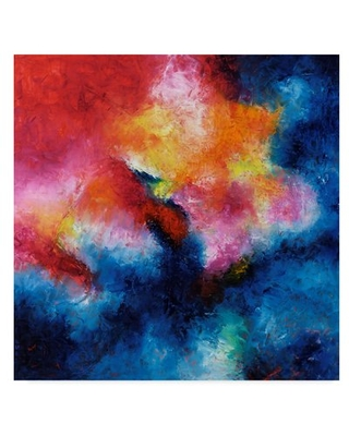 Dance of The Flame' Acrylic Painting Print on Wrapped Canvas - wrought studio