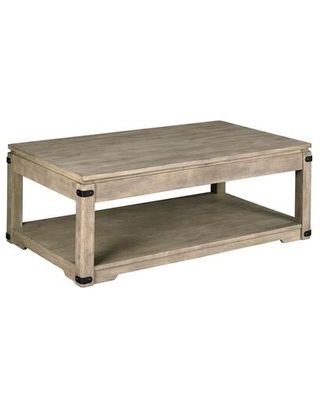 Marin Hamilton Collection 836 910 RECTANGULAR LIFT TOP COCKTAIL in Aged Dusty - hammary