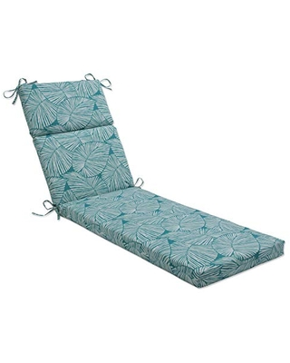 Outdoor Indoor Talia Seaglass Chaise Lounge Cushion - pillow perfect