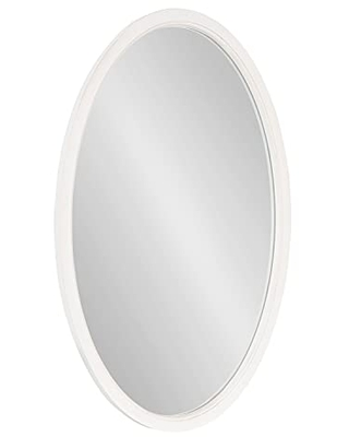 Hogan Oval Framed Wall Mirror 24x36 - kate and laurel