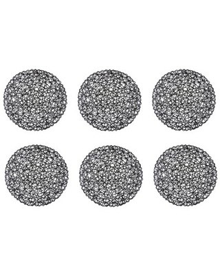 Woven Paper Round Placemat 15x 100% Paper - dii