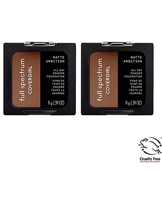 Full Spectrum Matte Ambition All Day Powder Foundation 2 Count - covergirl