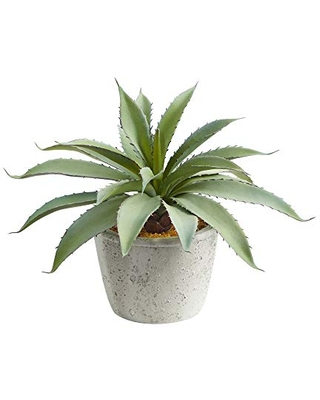 9in Aloe Succulent Artificial Plant - nearly natural