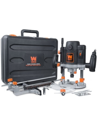 15 Amp Variable Speed Plunge Woodworking Router with Case RT6033 - wen products