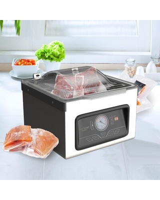 Automatic Foodsaver System Air Seal Machine Chamber Vacuum Sealer - nutrichef