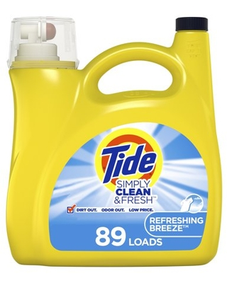 Simply Refreshing Breeze Liquid Laundry Detergent - tide