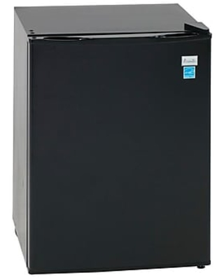 """Avanti® RM24T1B 18 1/2"""" 1 Section Compact Refrigerator with Chiller Compartment, Residential"""