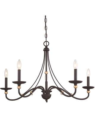 Westchester County 34 Inch 5 Light Chandelier Westchester County 1044 677 Transitional - minka lavery