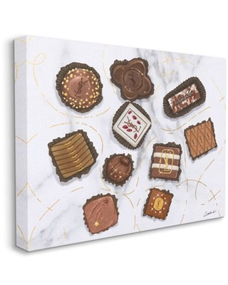 Stupell Industries Fashion Brand Candys Glam Food Painting Canvas Wall Art by Ziwei Li - stupell home d cor