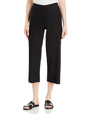 Eileen Fisher Straight Leg Cropped Pants - bloomingdale's