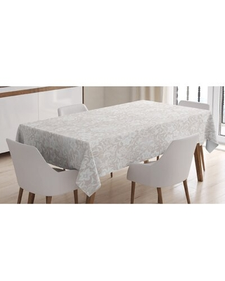 Spring Season Blossoms Branches Leaf Tablecloth - east urban home