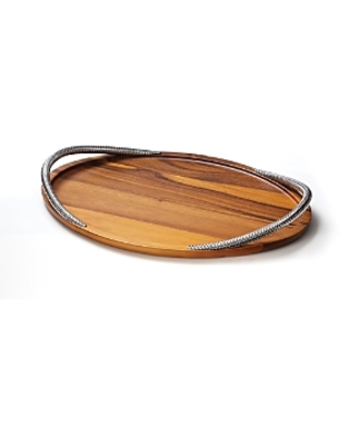 Braid Collection Serving Tray - nambe