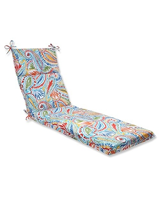 572673 Outdoor Indoor Ummi Chaise Lounge Cushion 1 Count Multicolored - pillow perfect