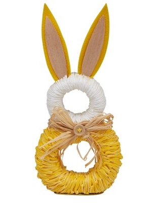 Napkin Rings for Easter Spring Dinners Parties or Everyday Use Rabbit - dii