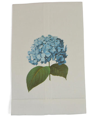 Hydrangea Guest Towels - the french bee