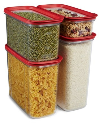 Modular Pantry Organization Food Storage Containers Piece Set - rubbermaid