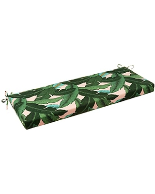 Outdoor Indoor Swaying Palms Capri Bench Swing Cushion 1 Count - pillow perfect